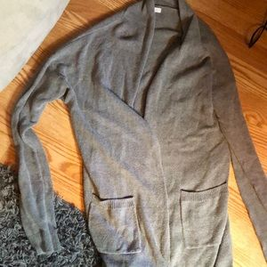 Abound long grey sweater